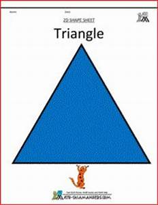 Triangle clipart, shapes for kids | 2D 3D shapes ...