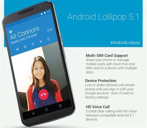 android version 5 1 android 5 1 lollipop est maintenant officiel phonedroid