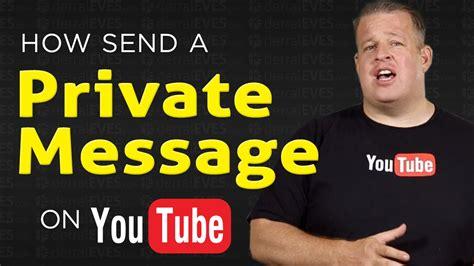 message private send channel creator