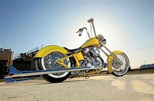 1996 Harley-davidson Flstn Heritage Softail Nostalgia - Cholo Chop