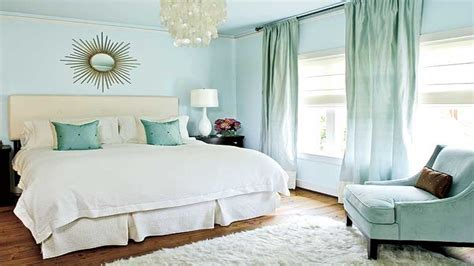 Curtain Color For Blue Walls, Grayish Blue Wall Bedroom