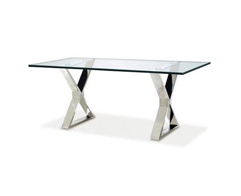 bureau acier et verre bureau verre et acier maison design wiblia com