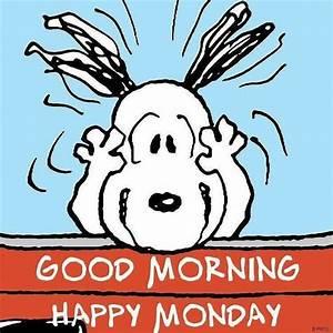 Good Morning Snoopy : good morning happy monday snoopy peanuts gang pinterest snoopy good morning snoopy and ~ Orissabook.com Haus und Dekorationen