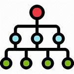 Level Icon Organization Diagram Communication Icons 512px