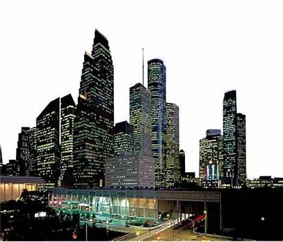 Skyline Houston Silhouette Architectural Elements Transparent Clipart