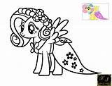 Fluttershy Coloring Pages Pony Rainbow Gala Dash Drawing Printable Charactercher Mlp Dress Bridal Kj Colorings Popular Pinkie Sad Castle Paintingvalley sketch template