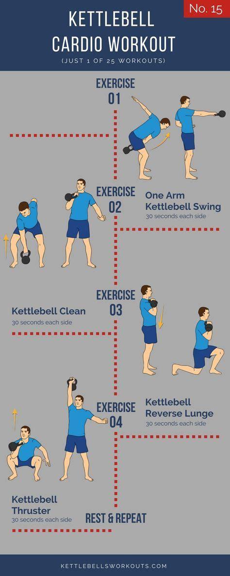 kettlebell cardio workouts kettlebellsworkouts