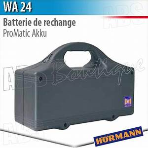 Hörmann Promatic Akku : batterie de rechange wa 24 h rmann pour motorisation promatic akku ~ Yasmunasinghe.com Haus und Dekorationen