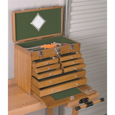wood tool chest   wood tool drawers
