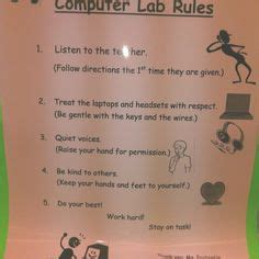 keyboarding classroom rules images classroom