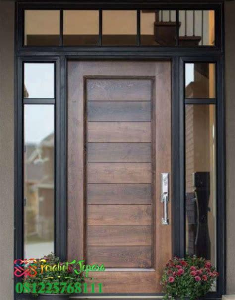 gambar pintu depan  daun minimalis  jualpintucoid