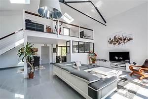 Architecture à Vivre : mezzanine ouverte meero photo n 40 domozoom ~ Melissatoandfro.com Idées de Décoration