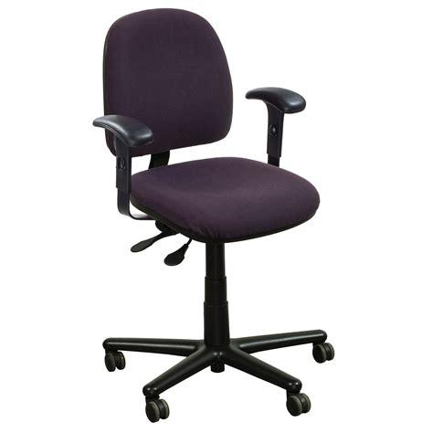 kimball used midback task chair purple national office