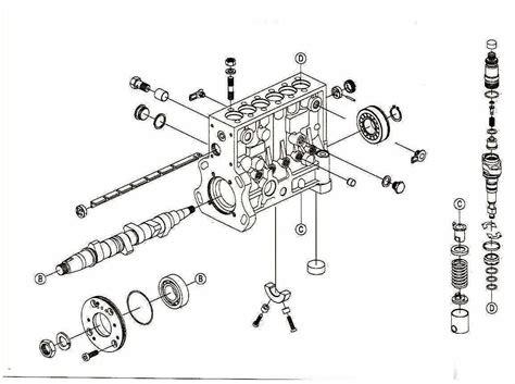 bosch p fuel pump diagrams