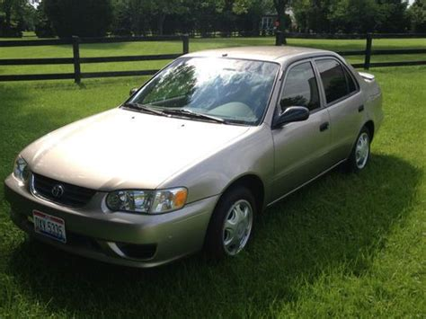 Find Used 2001 Toyota Corolla Ce Excellent Condition 49k