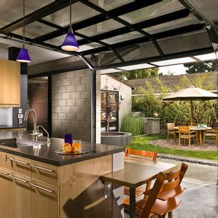 garage door window kitchen ideas  houzz
