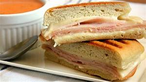 Tomato Soup with Grilled Turkey and Cheese Sandwich Recipe ...