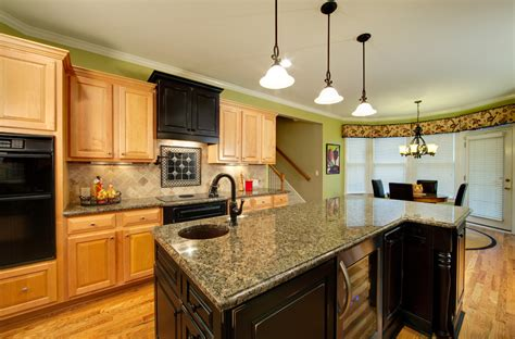 kitchen cabinets with black appliances glamorous brizo vogue other metro traditional kitchen Maple