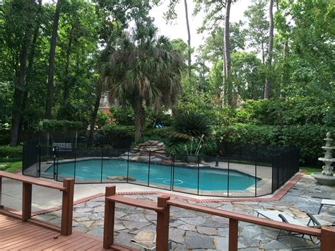 backyard pool fence ideas houston texas pool fence installer protect a child