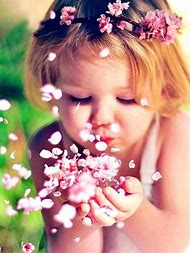 Cute Babies with Flowers