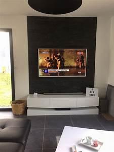 Meuble Tv Accroché Au Mur : pose des menuiseries du garage toiture bac acier enduit de la maison et du garage chinon ~ Preciouscoupons.com Idées de Décoration