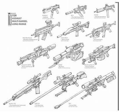 Weapons Guns Rpg Dungeons Warhammer Magic Drawing