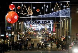 traffic restrictions announced for aberdeen christmas lights switch on press and journal