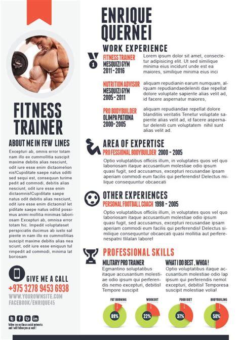 creative writing curriculum vitae fitness trainer curriculum vitae template creative resume templates trainers