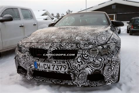 New Bmw M4 Convertible Chilling Out In Sweden