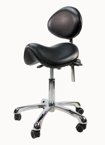 stool saddle rolling support stools chair spa fox silver luxe aah 1025 massage yimg tools esthetic