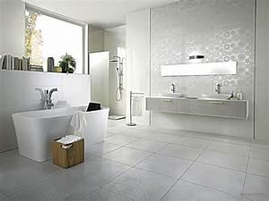 beautiful idee de salle de bain ideas design trends 2017 With salle de bain design avec carrelage décoratif mural