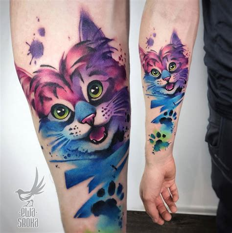 cat tattoos   youll   straight blasted
