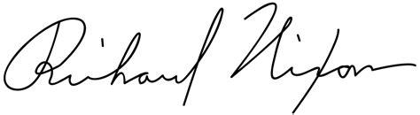 Filerichard M Nixon Signaturesvg  Wikimedia Commons