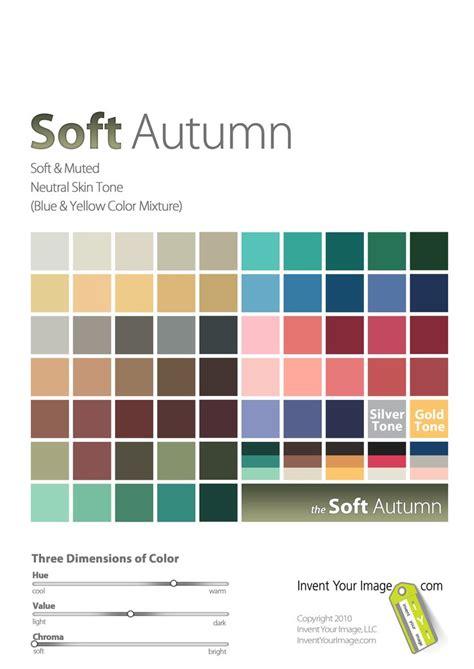 soft autumn color palette s soft autumn seasonal color analysis