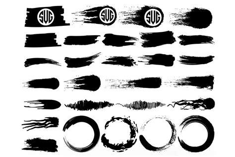 Svg, png (zipped) png resolution: Brush Strokes SVG, Circle Brush SVG, Paint Splatter ...