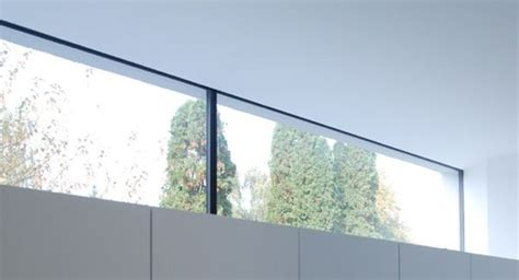 Lichtband Fenster Sichtschutz haus schramm k 252 chen lichtband kellerfenster und oberlicht