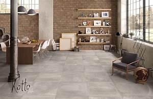 Bodenbelag Für Wohnzimmer : tolle farbnuancen am boden kombiniert mit naturstein ~ Michelbontemps.com Haus und Dekorationen