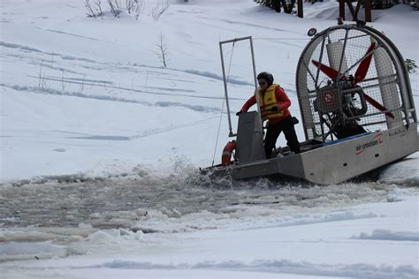 Airboat Expeditions by Testing Our Airboat For The Ice C 2016 Second Round