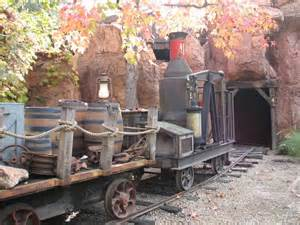 Frontierland Disneyland Roller Coaster