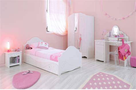 chambre fille chambre à coucher fille blanc brillant novomeuble