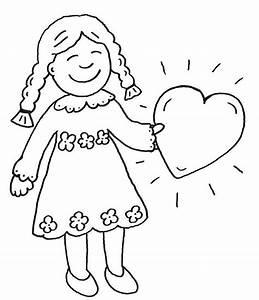Herz Bilder Zum Ausmalen : ausmalbild muttertag mdchen mit herz zum ausmalen kostenlos ausdrucken ~ Eleganceandgraceweddings.com Haus und Dekorationen