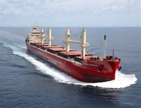 Delivery of bulk carrier Federal Montreal by Oshima ...