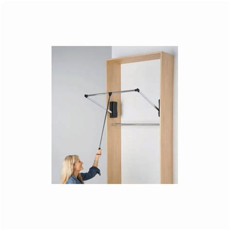 pull closet rod heavy duty in closet rods and brackets