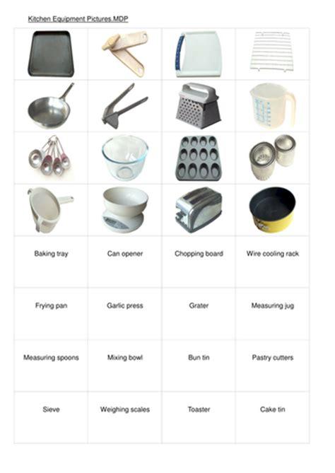 equipment   kitchen  janharper teaching resources