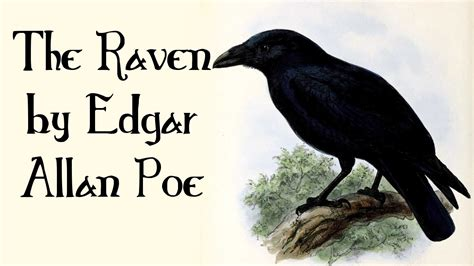 The Raven By Edgar Allan Poe  Quoth The Raven, Nevermore  Poetry For Kids, Freeschool Youtube