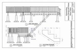 2-Level Deck Plan Blueprint (Free PDF Download)