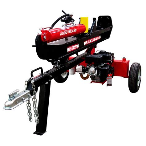 25 Ton Floor Home Depot by Gas Log Splitter Price Compare