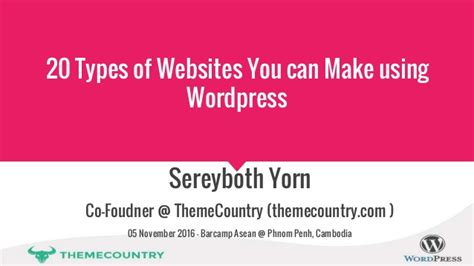 20 types of websites you can make using