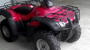 Used 2006 Honda Trx350fe Rancher Es 4x4 Atv For Sale At