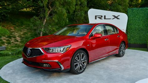 updated acura rlx sedan makes its pebble debut
